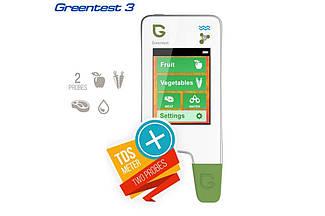 Нітрат-Тестер вимірювач жорсткості води (GreenTest + tds-meter) GreenTest 3 ANMEZ