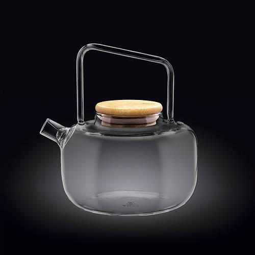 Чайник заварочный стеклянный с фильтром спиралью Wilmax WL-888821/A Thermo 1000 мл