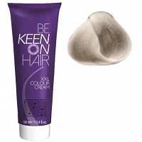 Крем краска Hellblond Asch - 9.1 Светло-пепельный блондин Keen Color Cream XXL 100 мл.