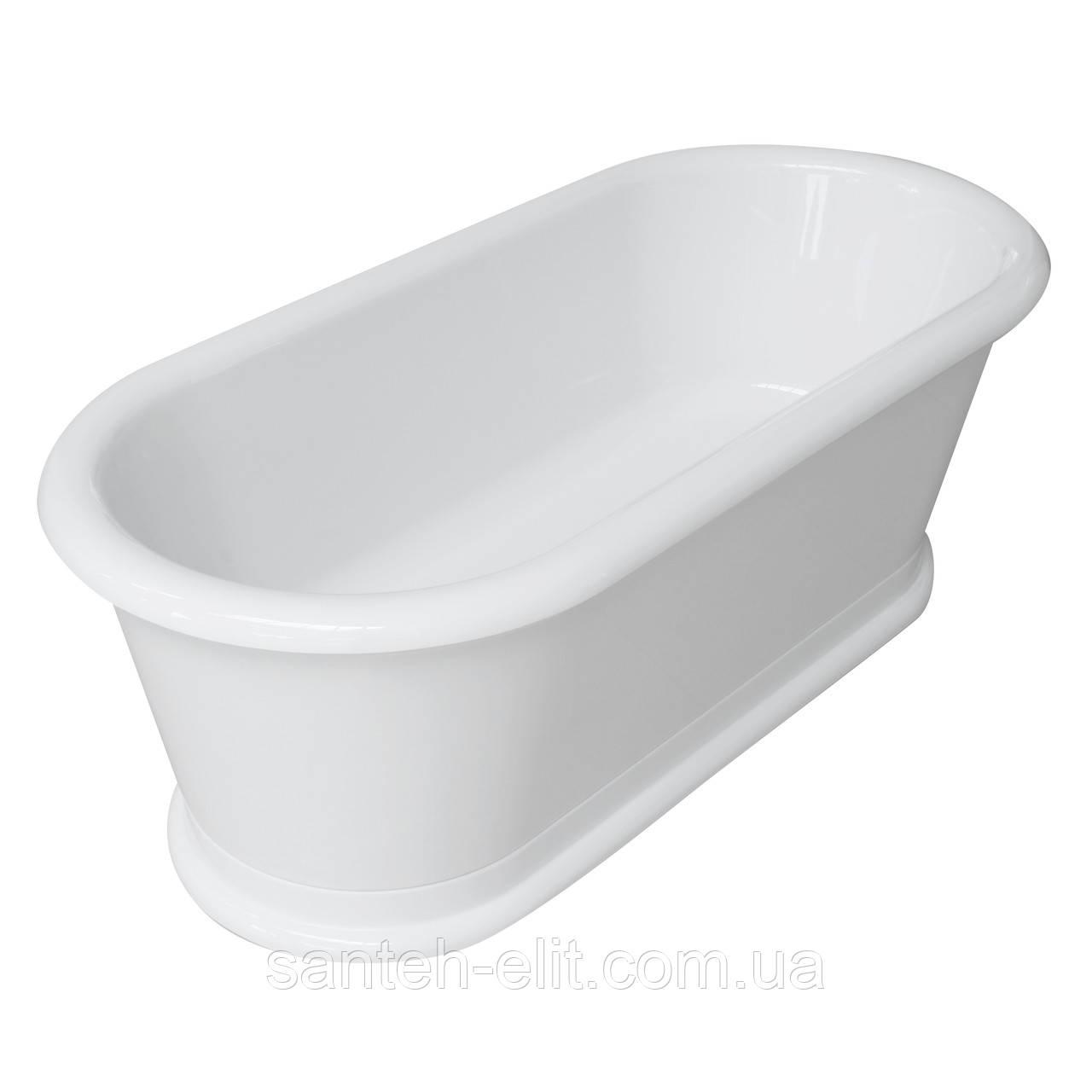 Ванна Volle 180*85*63,5см, отдельностоящая, с сифоном (12-22-807)
