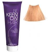 Крем краска Hellblond Braun - 9.7 Светло-коричневый блондин Keen Color Cream XXL 100 мл.