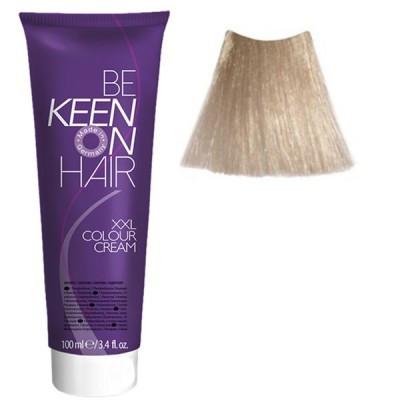 Крем краска Ultrahellblond Asch - 10.1 Ультра-светлый пепельный блондин Keen Color Cream XXL 100 мл.