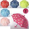 Зонтик детский MK 3636 (60шт) длина67см,трость55см,диам84см,спица50мм,ткань,рисун,6вид,кул