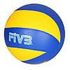 Мяч волейбольный MS 2331 (30шт) официальный размер, ПУ, 260-280г, 1цвет, в кульке