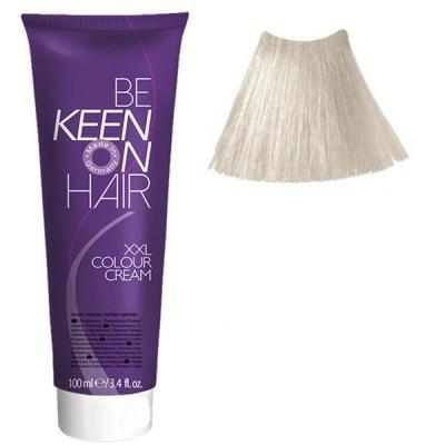 Крем краска Platinblond Asch - 12.10 Платиново-пепельный блондин Keen Color Cream XXL 100 мл.