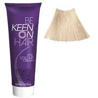 Крем краска Platinblond Gold - 12.30 Платиново-золотистый блондин Keen Color Cream XXL 100 мл.