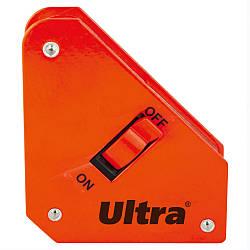 Угольник магнитный отключаемый 13кг 100×95×110мм (45,90,135°) Ultra (4270122)