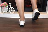 Туфли женские бежевые натуральная кожа Т018 Уценка, фото 7