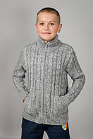 Детская вязанная кофта для мальчиков и девочек