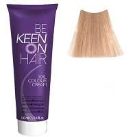 Крем краска Platinblond Braun - 12.70 Платиново-коричневый блондин Keen Color Cream XXL 100 мл.