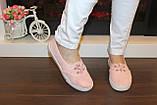 Кеды женские розовые Т1064, фото 6