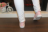 Кеды женские розовые Т1064, фото 7