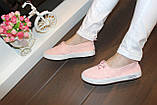 Кеды женские розовые Т1064, фото 8