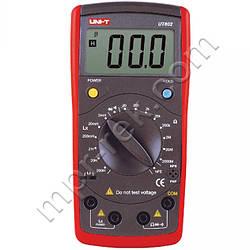 RLC мультиметр измеритель иммитанса (сопротивление, индуктивность) UNI-T UT602 (UTM 602)