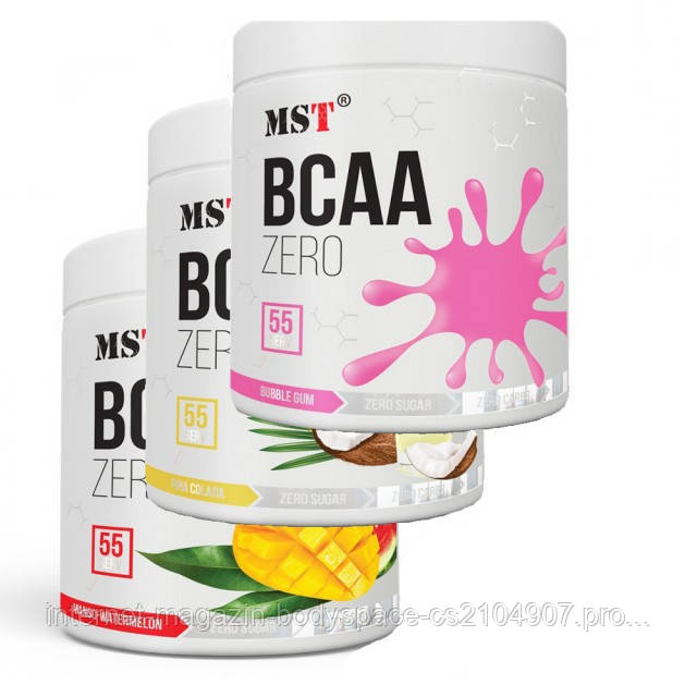 MST Sport Nutrition, Бцаа BCAA  Zero, 330 грамм