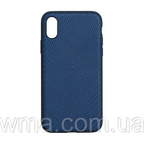 Чехол Carbon for Apple Iphone Xs Max Цвет Синий
