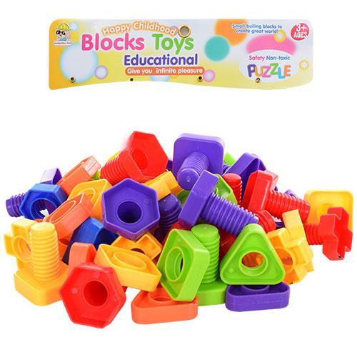 """Конструктор Blocks Toys 820  """"Болты и гайки"""""""