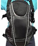 Эрго рюкзак-кенгуру для детей Mothercare 3-way Carrier Черный слинг шарф переноска для новорожденных, фото 2