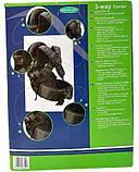 Эрго рюкзак-кенгуру для детей Mothercare 3-way Carrier Черный слинг шарф переноска для новорожденных, фото 6