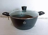 Кастрюля Meisterklasse MK-1027-24 black marble 24 см. 4 л., фото 1