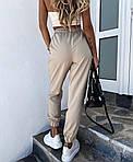Женские штаны, костюмка летняя, р-р 42-44; 44-46 (бежевый), фото 3