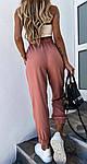 Женские штаны, костюмка летняя, р-р 42-44; 44-46 (фрез), фото 2