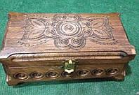 Дерев'яна скринька ручної роботи
