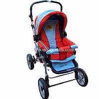 Детская прогулочная коляска-трансформер зима-лето Baby Club