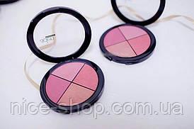 Палітра рум'ян Aden Cosmetics Blusher Palette