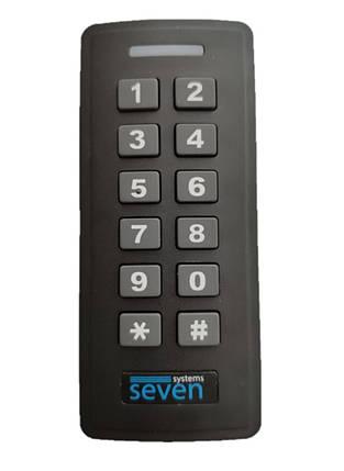 Контроллер + считыватель с кодовой клавиатурой SEVEN CR-7467b, фото 2