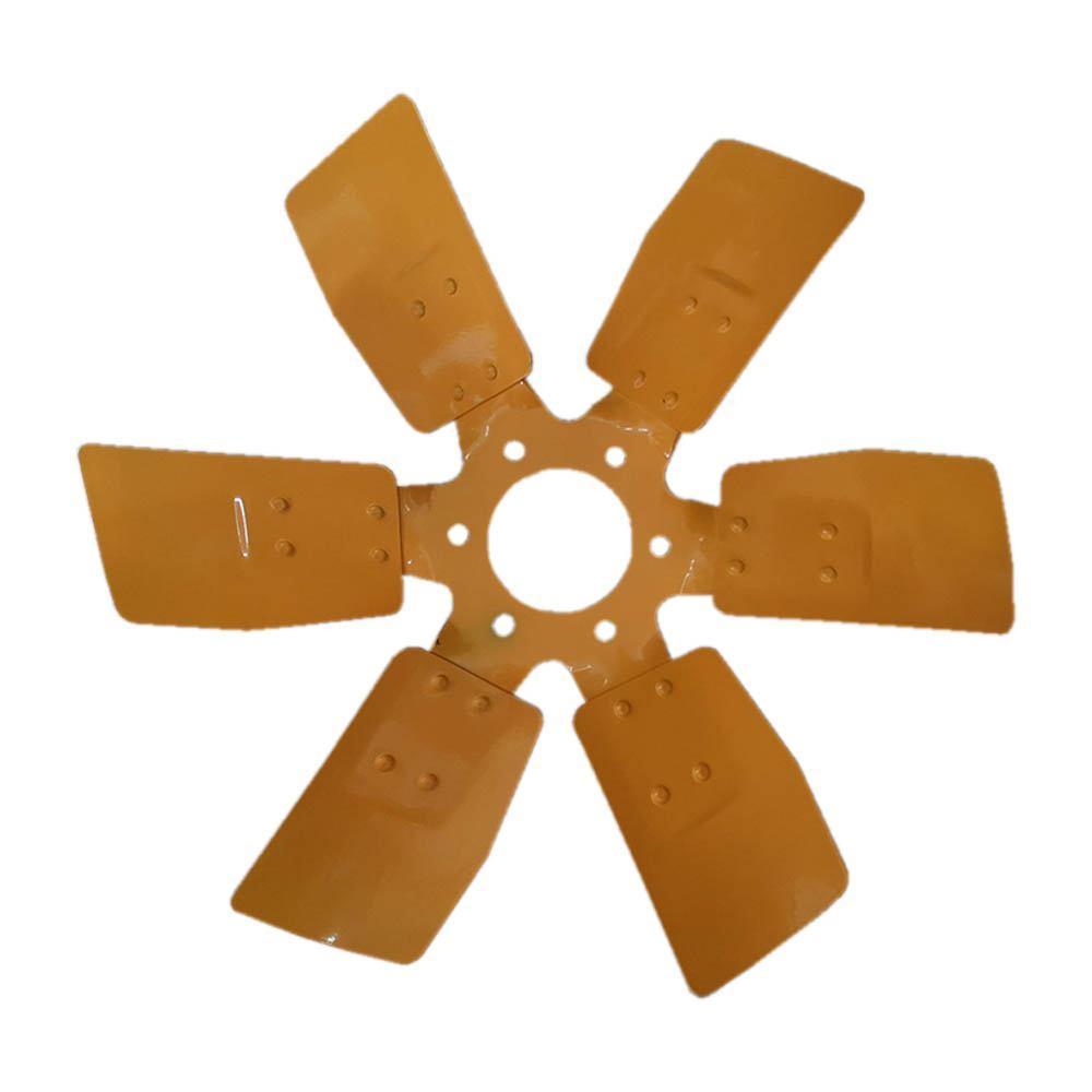 Вентилятор металевий 6-ти лопатевий ГАЗ, ЗІЛ, МТЗ 245-1308010 -А (JFD)