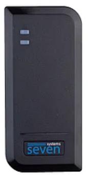Считыватель SEVEN CR-7452 MF black, фото 2