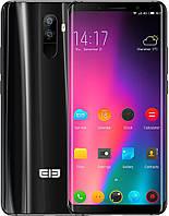 Смартфон с большим дисплеем и хорошей двойной камерой на 2 сим карты Elephone U3H 6/128Gb black