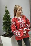 Вишиванка жіноча на домотканому полотні, багата вишивка, р-ри 42-56, 750/850грн (ціна за 1 шт + 100 грн), фото 5