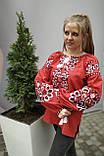 Вишиванка жіноча на домотканому полотні, багата вишивка, р-ри 42-56, 750/850грн (ціна за 1 шт + 100 грн), фото 3