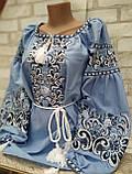 Вишиванка жіноча на домотканому полотні, багата вишивка, р-ри 42-56, 750/850грн (ціна за 1 шт + 100 грн), фото 8