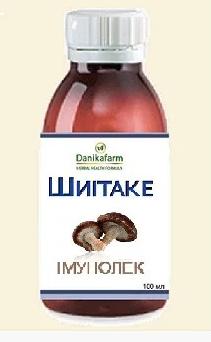 Шиитаке – Иммунолек   100.0 г