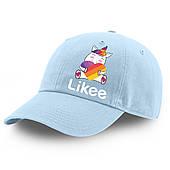 Кепка детская Лайк Единорог (Likee Unicorn) 100% Хлопок (9273-1037)