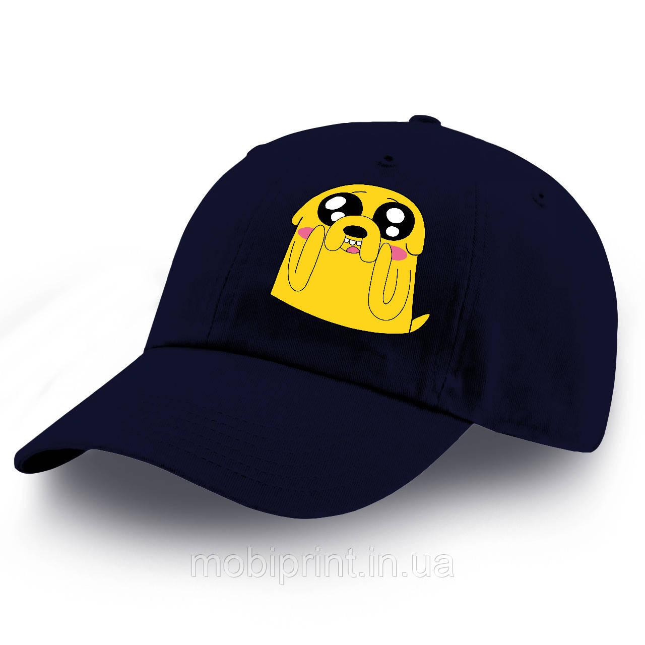Кепка детская Джейк пес Время Приключений (Adventure Time) 100% Хлопок (9273-1577)
