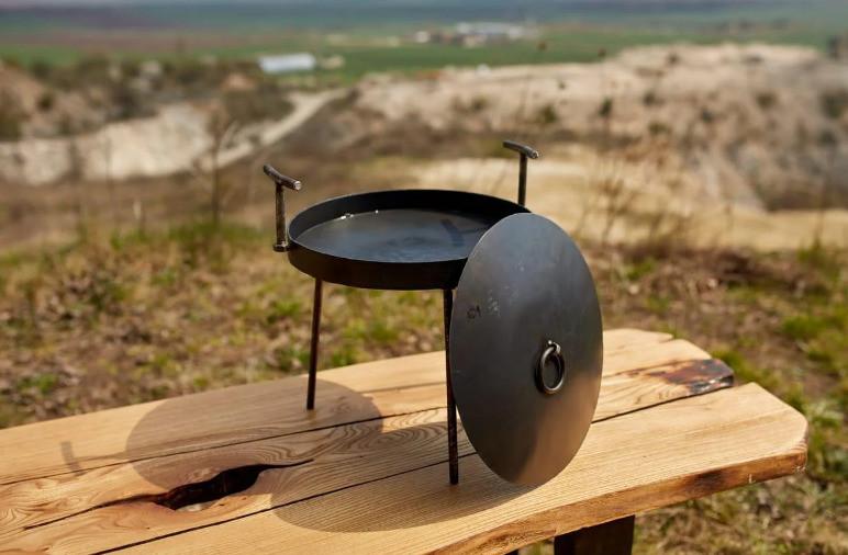 Сковорода з кришкою Bukovinka 30 см