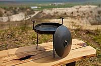 Сковорода з кришкою Bukovinka 30 см, фото 1