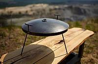 Сковорода с крышкой Буковинка 40 см, фото 1