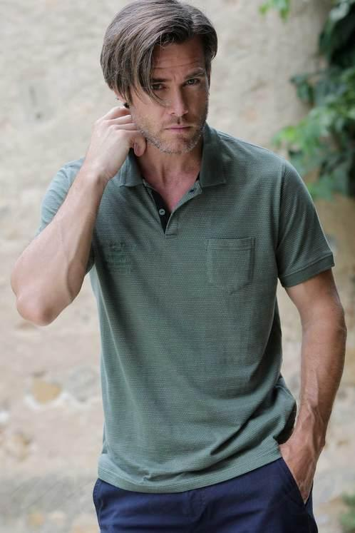 Мужская футболка поло, хлопок Massana E195320