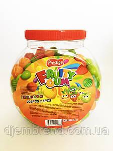 Жевательная резинка Fruity gum ассорти 250 штук 1 кг