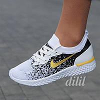Кроссовки женские для бега белые летние весенние модные ( код 7759 ) - жіночі кросівки білі модні зручні