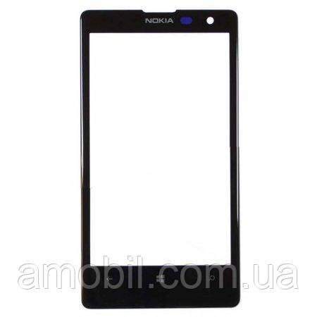Скло для переклеювання Nokia Lumia 1020 black