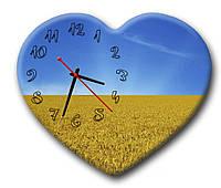 Годинник настінний фігурний в офіс Erpol  Україна 30x36 см