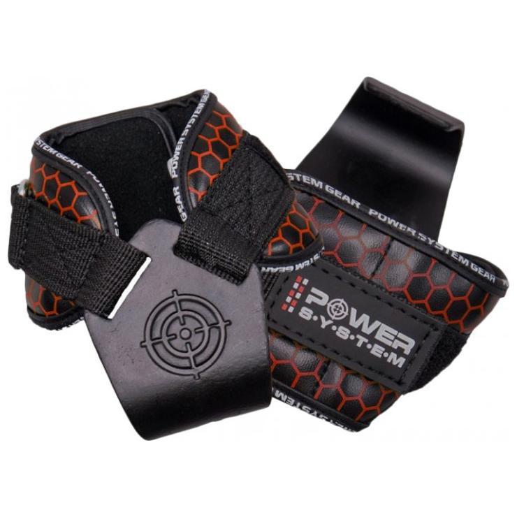 Крюки для тяги POWER SYSTEM HOOKS CAMO PS-3360 BLACK/RED  Размер : L