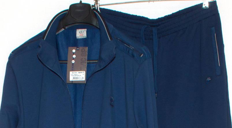 Чоловічій спортивний костюм AVIC 3X-6XL, фото 2