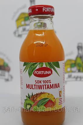 Сік Fortuna 100% мультивітамін 300 мл